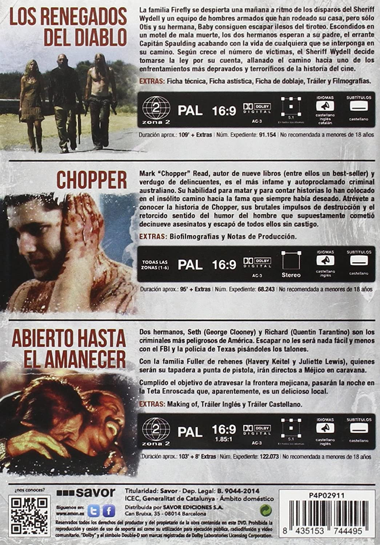 Pack: Rob Zombie + Quentin Tarantino + Robert Rodriguez + Andrew ...