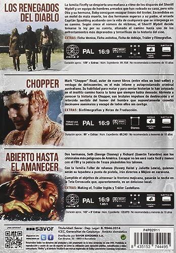 Pack: Rob Zombie + Quentin Tarantino + Robert Rodriguez + Andrew Dominik DVD: Amazon.es: Sid Haig, George Clooney, Eric Bana, Rob Zombie, Robert Rodriguez, Andrew Dominik, Sid Haig, George Clooney: Cine y