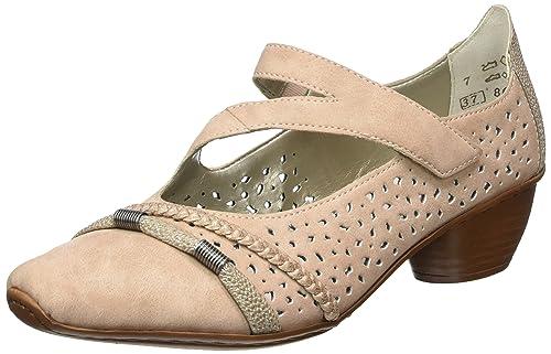 Rieker Spangenpumps altrosa Schuhe Schuhe