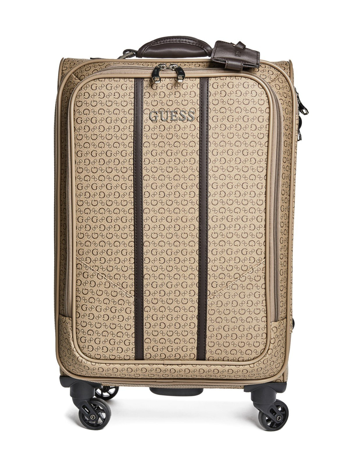 GUESS Factory Women's Nichols Four-Wheel Roller Suitcase