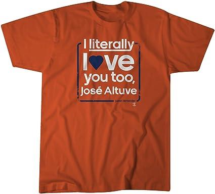 Amazon.com   BreakingT MLB Houston Astros Love Verlander t-Shirt ... e4de61bfe