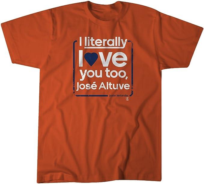 timeless design 20db9 20c02 BreakingT MLB Houston Astros Love Verlander t-Shirt