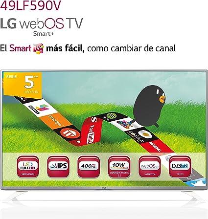 LG 49LF590V - Televisor FHD de 49