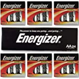 "Energizer AA Max Alkaline E91 LR6 1.5V Batteries ""In Original Box"" X 24"