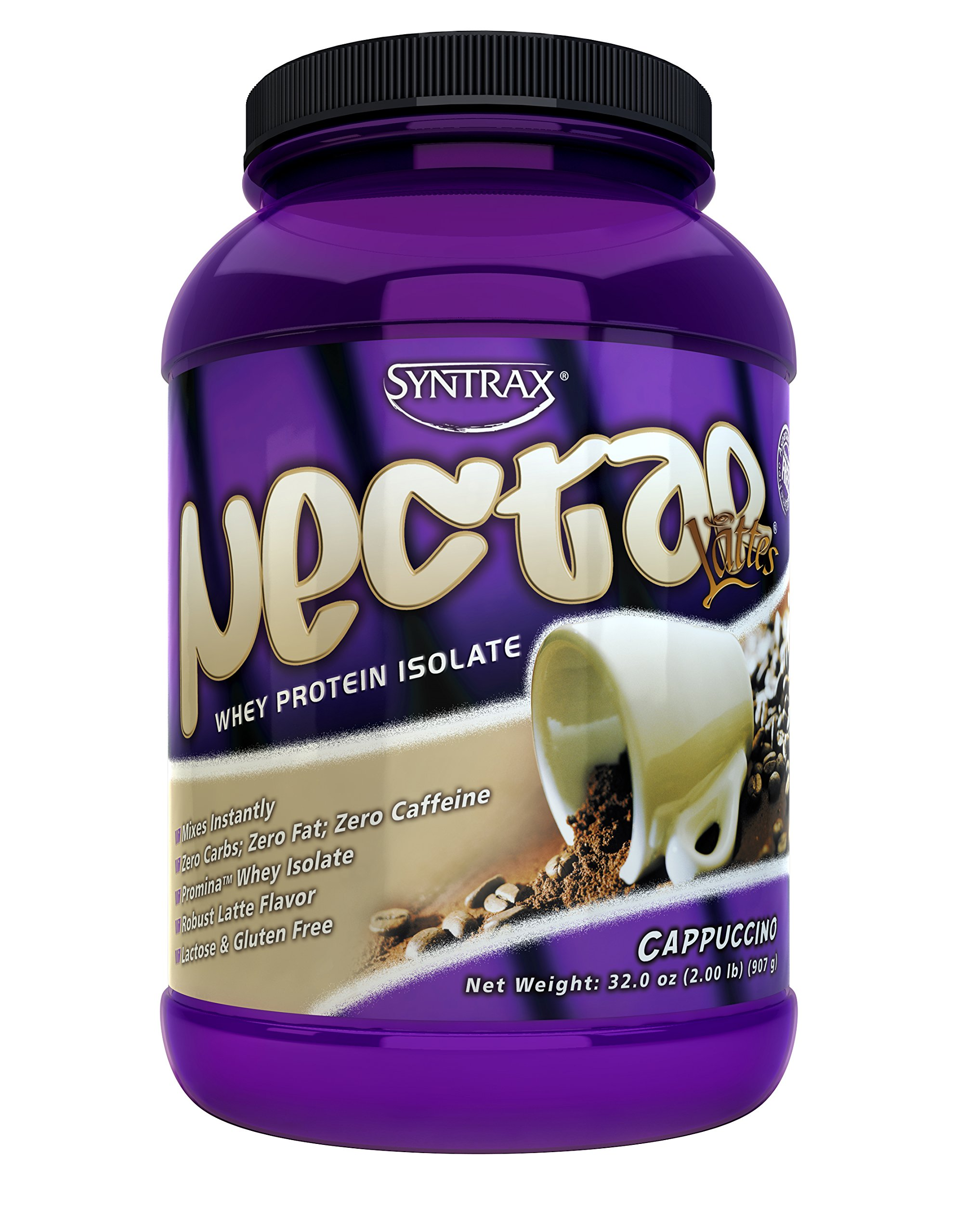 Nectar Lattes, Cappuccino, 2 Pounds by Syntrax