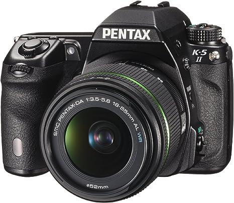 Pentax K5II+18-55WR - Kit de cámara réflex Digital con Objetivo 18 ...