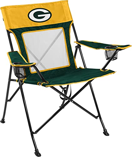 NFL Game Changer Large Folding Tailgating and Camping Chair, with Carrying Case ALL TEAM OPTIONS
