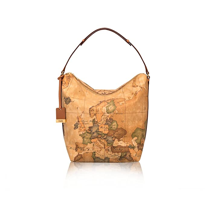 ALVIERO MARTINI PRIMA CLASSE Borsa sottospalla in stampa geo NATURAL   Amazon.it  Abbigliamento 4ace120e930