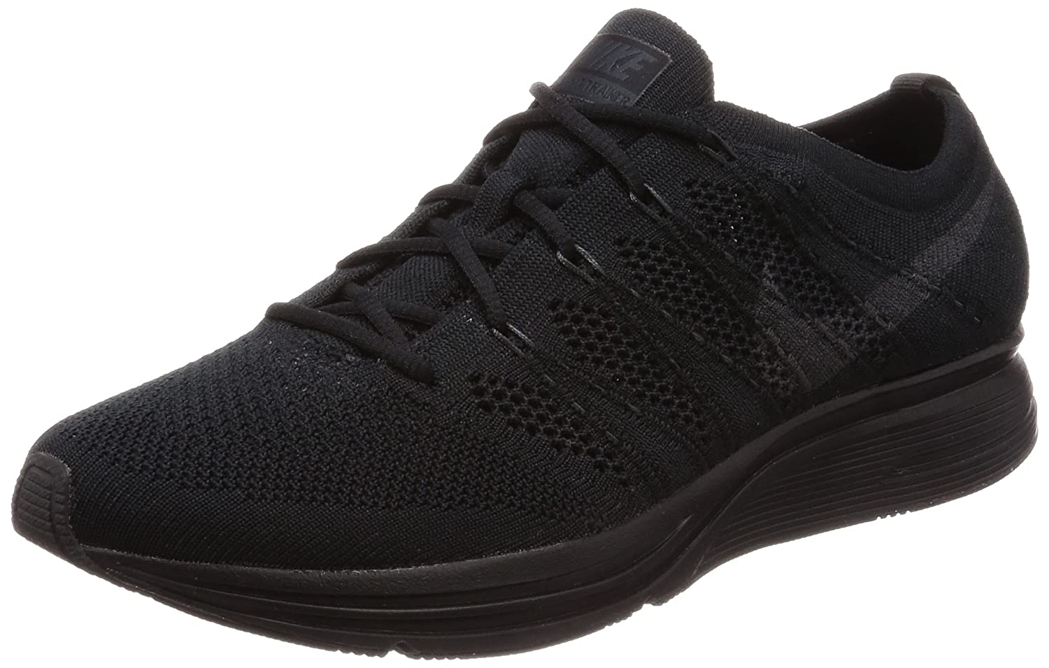 sports shoes 01697 c26f5 Amazon.com   Nike Men's Flyknit Trainer, Black/Anthracite, 10 M US    Fitness & Cross-Training