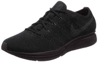 Amazon.com | Nike Men's Flyknit Trainer, Black/Anthracite, 10 M US ...