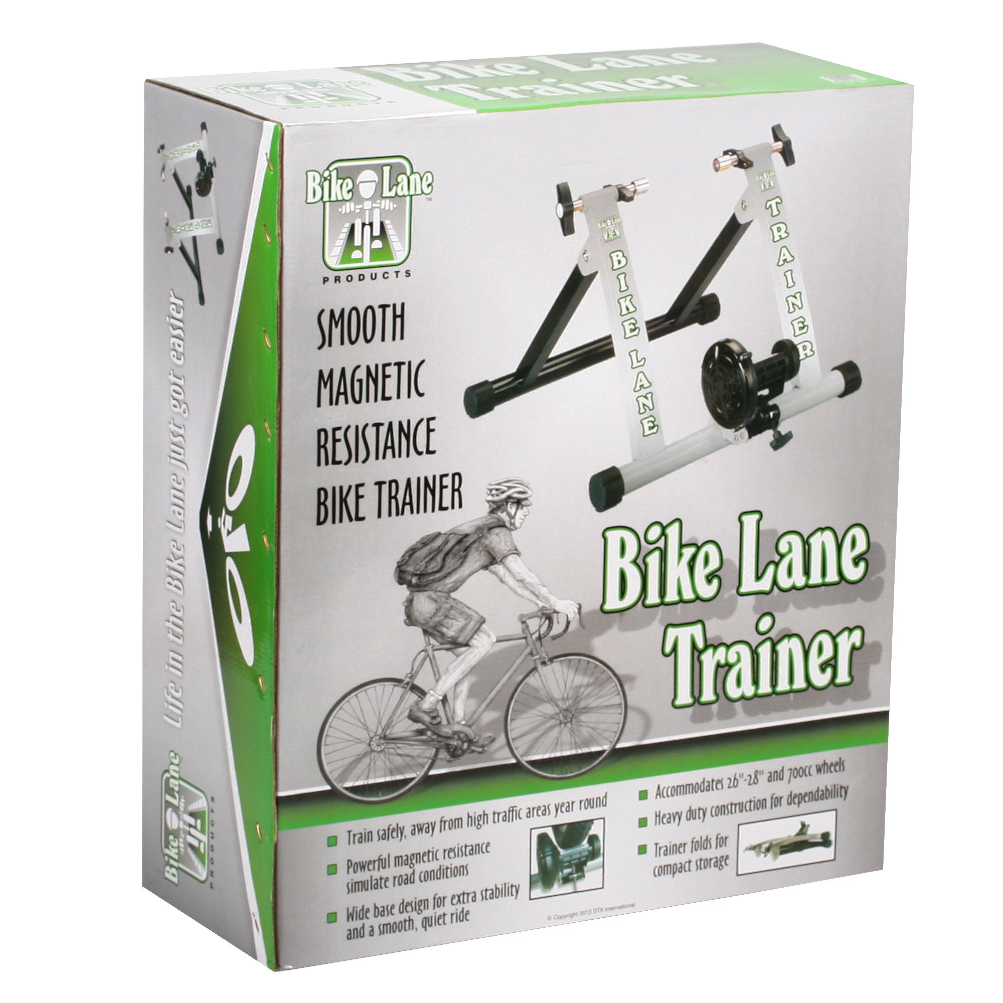 Bike Lane Trainer Bicycle Indoor Trainer Exercise Machine Ride All Year Around With 850 Gram Machined Steel Flywheel for the Most Natural Pedal Feel by Bike Lane (Image #5)