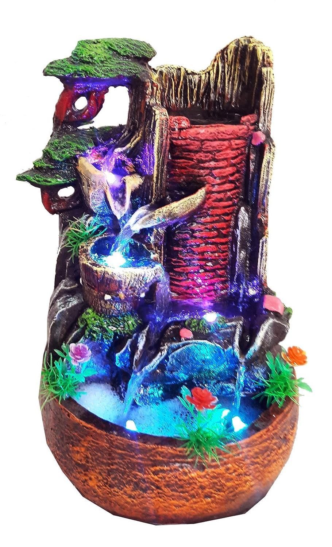 Noman NVR Indoor Water Fountain Showpiece: Amazon.in: Garden U0026 Outdoors