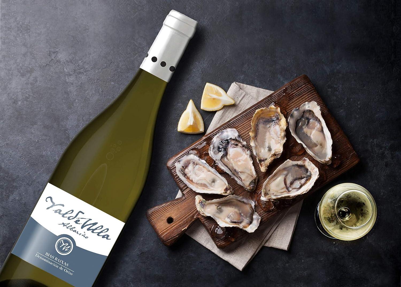 Vino blanco albariño Rias Baixas 100%. Albariño Gallego pack estuche 3 botellas 75cl.: Amazon.es: Alimentación y bebidas
