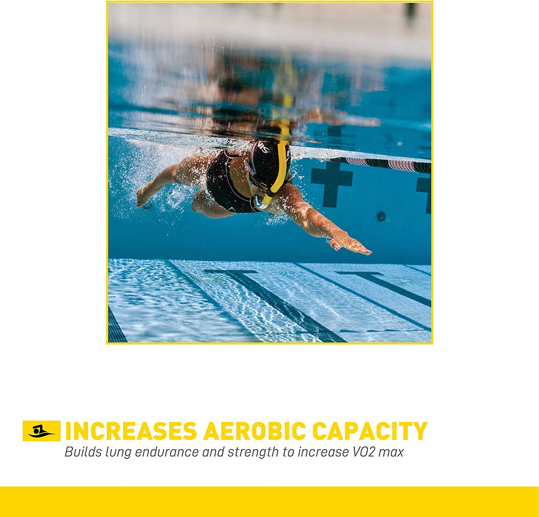 FINIS Adult Swimmer/'s Snorkel Blue Center Mount Swim Hard 2004 Swimmer for sale online