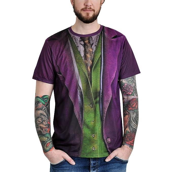 Close Up Batman - Camiseta Joker Traje con Alloverprint ...