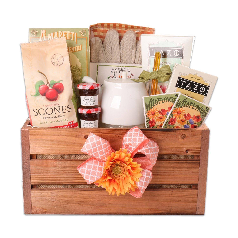 English Garden Breakfast Gift Crate