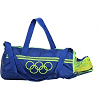 POLESTAR Blue 26 lt Duffel Gym Bag with Shoe Compartment