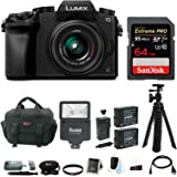 Panasonic LUMIX G7 Camera with 14-42mm Lens Bundle (64GB Extreme Pro Bundle)