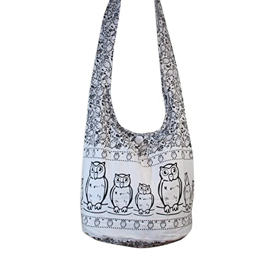cc2e49789473 Owl 10 Color Cross body bags Shoulder Bags Messenger Bags Hobo Hippie Bag  Purse
