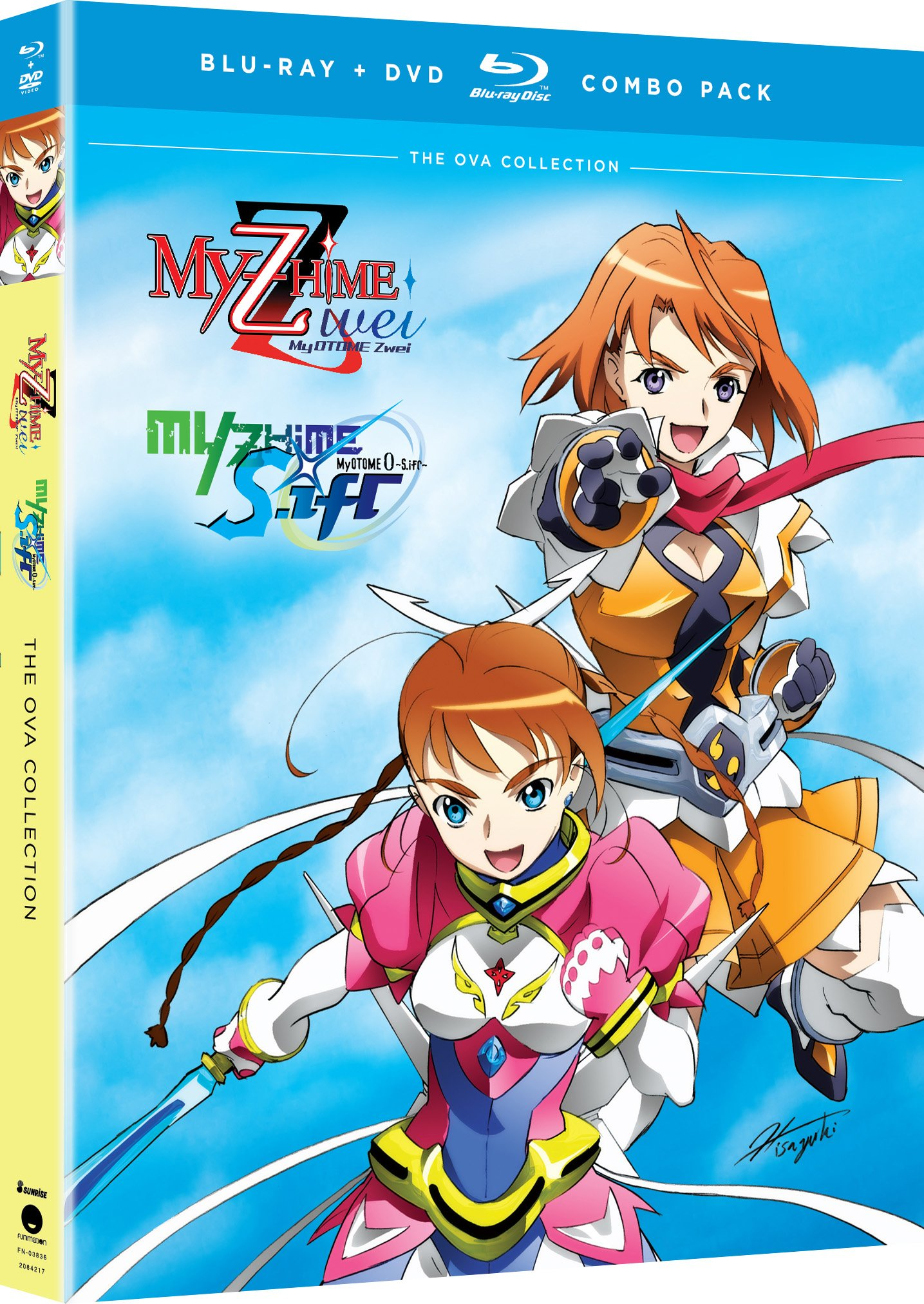 Blu-ray : My-Otome Zwei + My-Otome 0: S.ifr (With DVD, Boxed Set, 3 Disc)