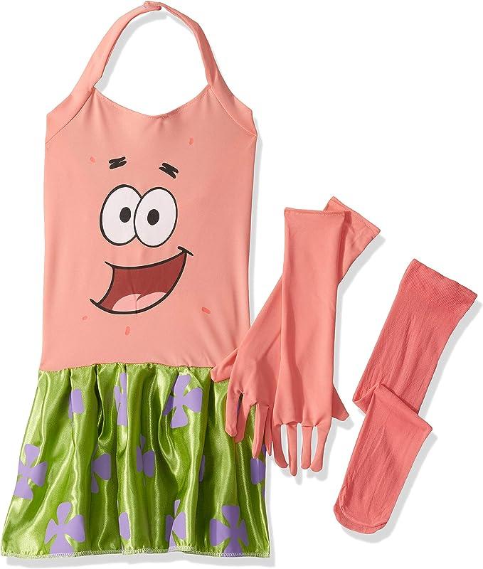 Disfraz de Patricio Bob Esponja para niña - M: Amazon.es: Juguetes ...