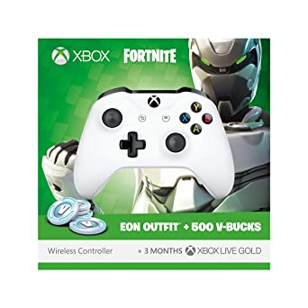 Official Xbox Wireless Controller with Fortnite Eon Cosmetic Set