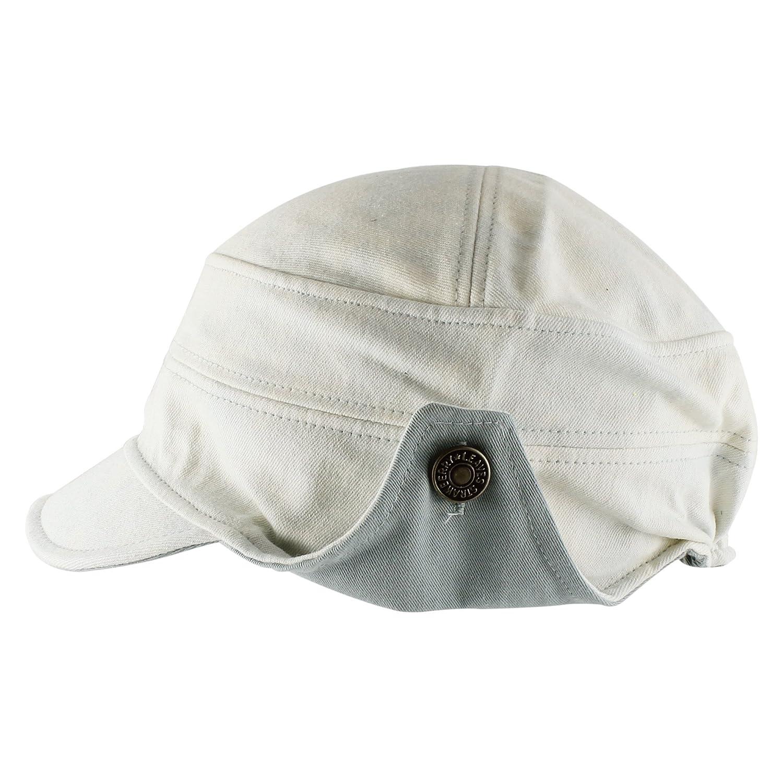 96f11b22c81 Morehats Tie Dye Floppy Short Brim Baseball Cap Aviator Trapper Hat - Baby  Blue at Amazon Men s Clothing store