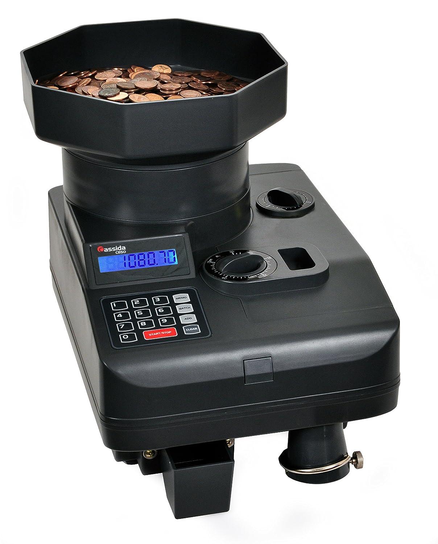 Cassida Heavy-Duty Coin Counter//Off-sorter C-C850