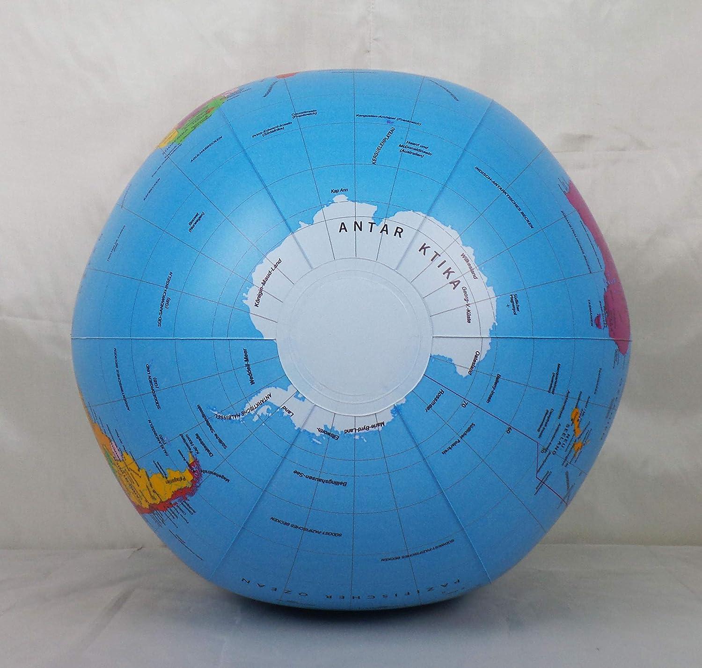 Durchmesser 40cm Interkart Politischer Wasserball deutsch