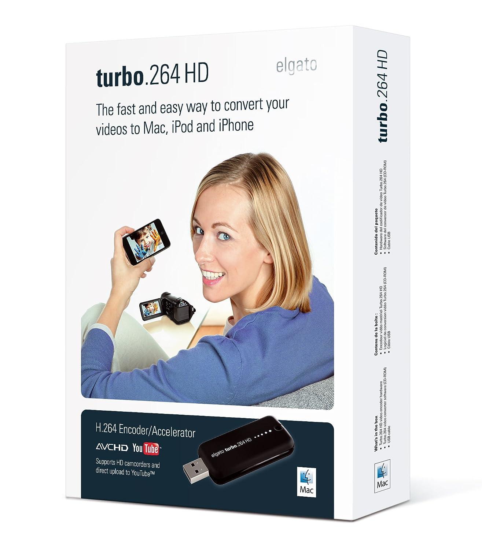 Geniatech Turbo.264 HD - Convertidor de vídeo con aceleración por hardware (USB 2.0), color negro: Amazon.es: Informática