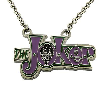 Amazon Batman Movie Joker Villain Character Necklace Pendant
