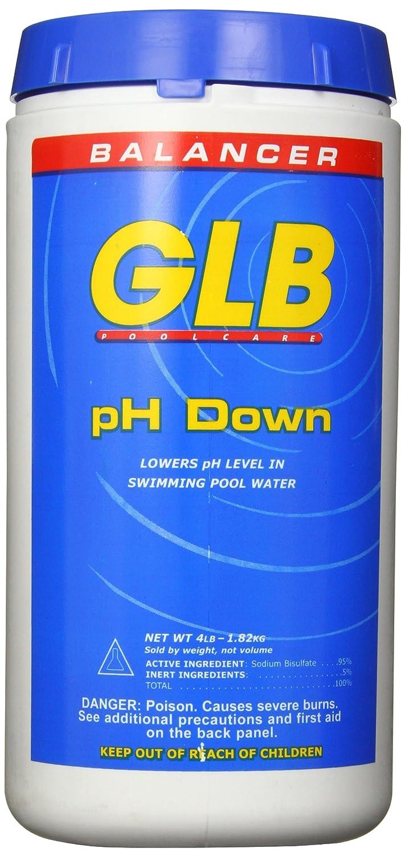 B000PSAIA4 GLB Pool and Spa Products 71240 4-Pound pH Down Pool Water Balancer 81NRWXShtIL