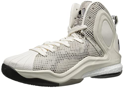 release date: 79252 f26d3 Adidas Performance Men s D Rose 5 Boost Basketball Shoe, Chalk White, ...