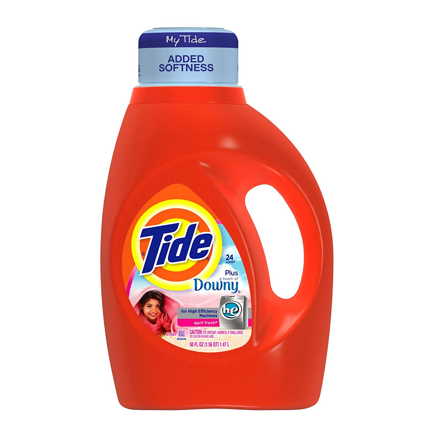 High Efficiency Detergent Brands Amazoncom Tide With Touch Of Downy High Efficiency April Fresh