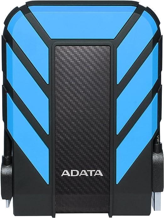 ADATA(エイデータ) 外付HDD 1TB[USB3.1] HD710 Pro 外付けハードドライブ AHD710P-1TU31-CBL ブルー