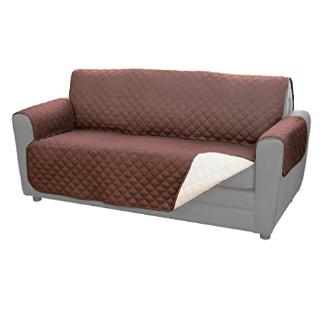 e5a300cdcb269c Amazon.com  Couch Coat Reversible Microfiber Couch Cover by BulbHead ...