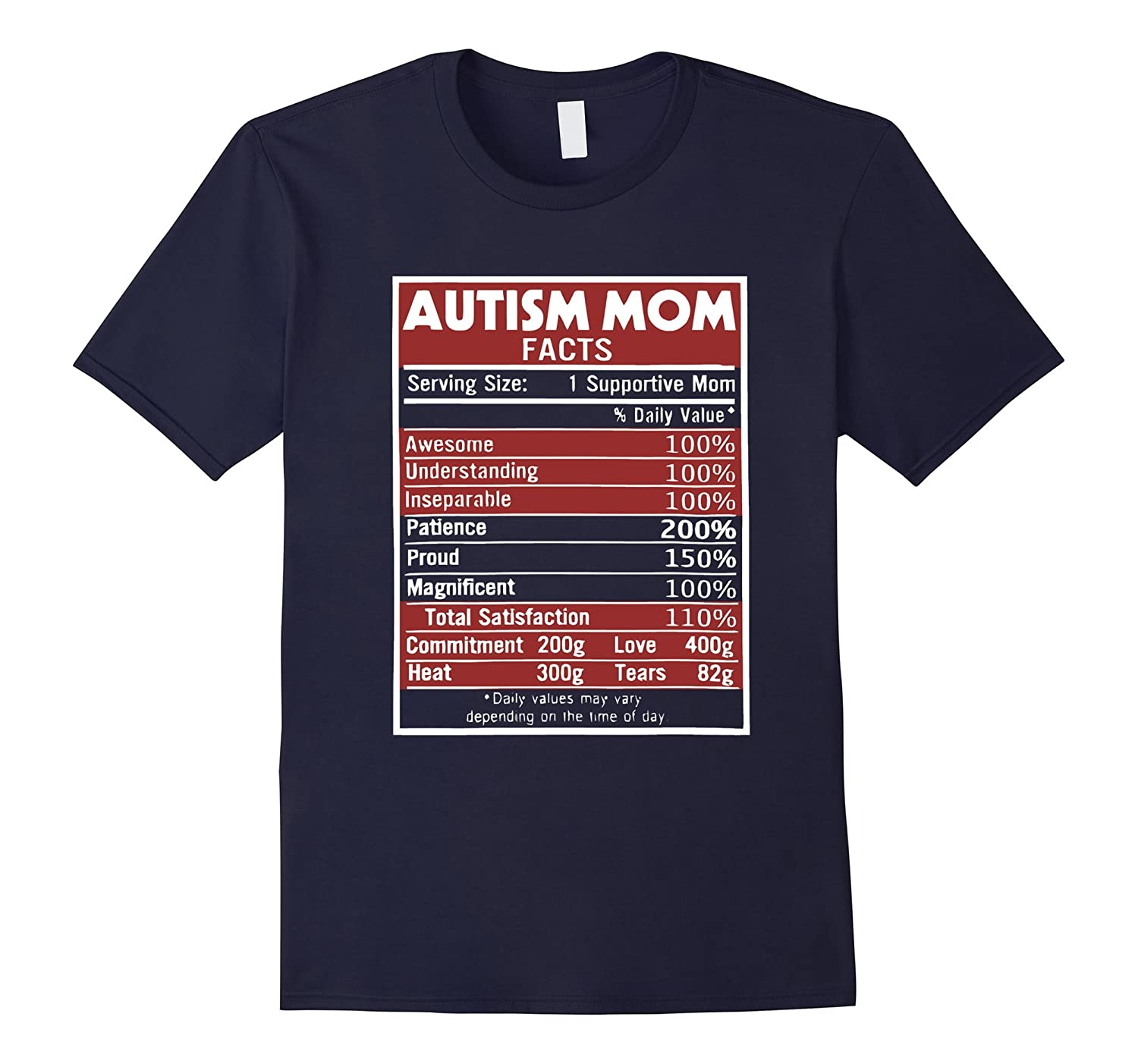 Autism Mom Facts T Shirt Perfect Gifts for your mom-TD