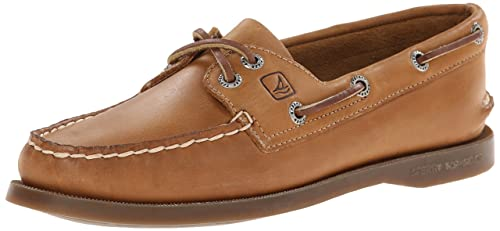 Sperry Top-Sider donna Authentic Original 2-Eye Boat Shoe,Sahara ,6