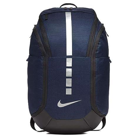 02ec461813b6a Nike Hoops Elite Pro Backpack MIDNIGHT NAVY/BLACK/MTLC COOL GREY