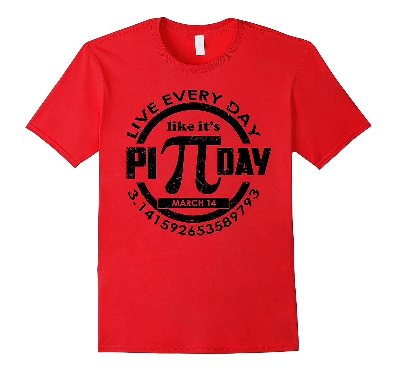 Happy Pi Day Funny 314 Math March 14 T-Shirt-TD