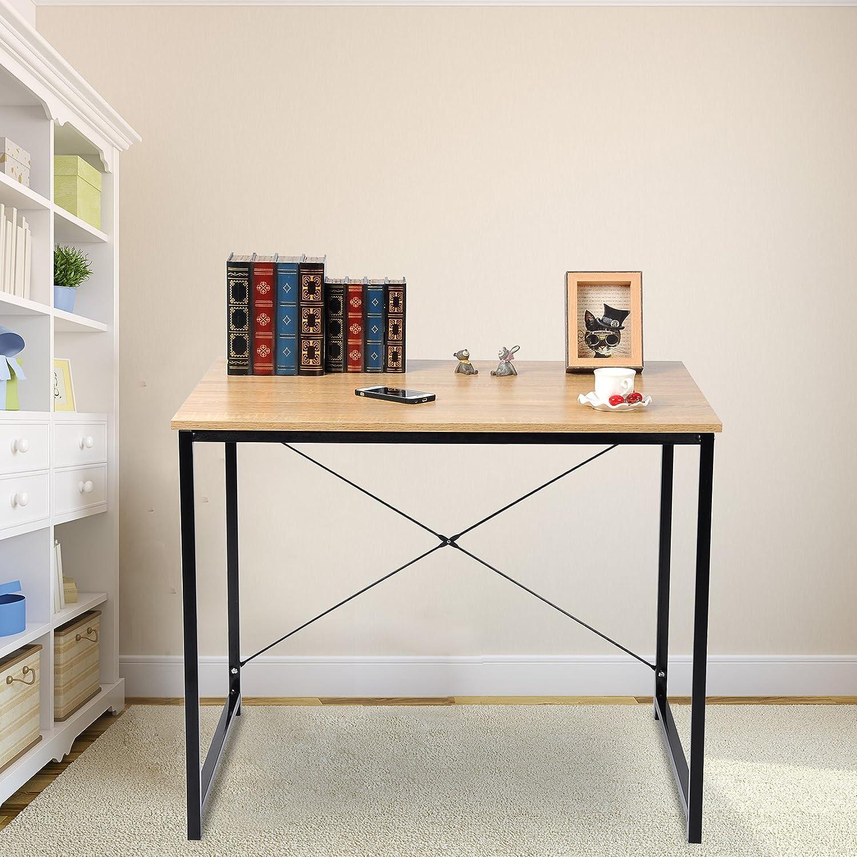 Woltu Escritorio para Ordenador – tsb03hei-c mobiliario de Oficina ...
