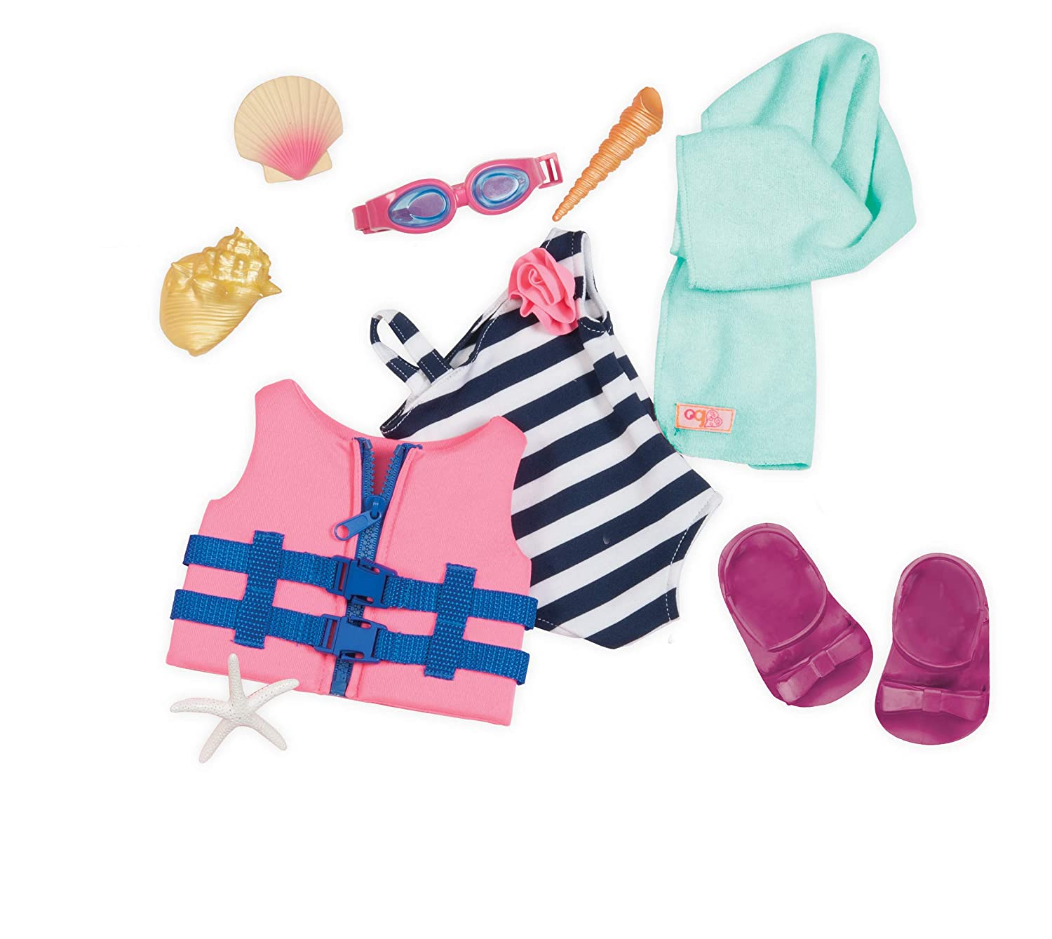 Mehrfarbig Our Generation BD30359Z Puppenoutfit