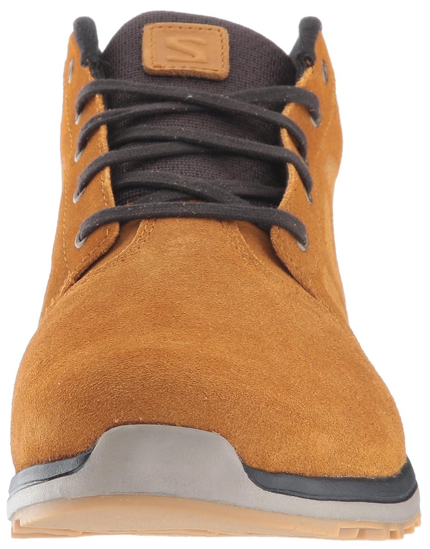 Salomon L38122300, Chaussures de Randonnée Homme, Marron (Rawhide LTR/Asphalt/Titanium Rawhide LTR/Asphalt/Titanium), 48 EU