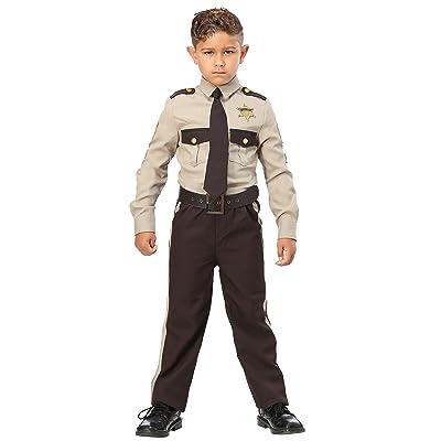 Boy's Sheriff Costume: Clothing