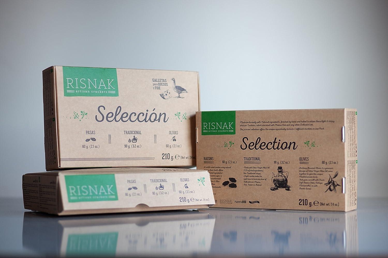 Farinsol Galletas Saladas - 4 Paquetes de 210 gr - Total: 840 gr ...