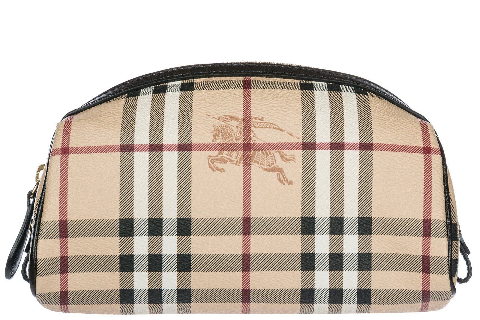 Burberry women's travel makeup beauty case Evelyn brown