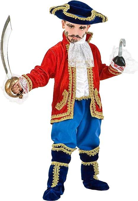 Commerciale Italiana - Disfraz de Capitán de Ganchillo para niño ...