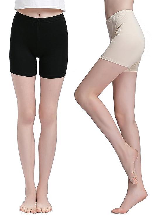 Vinconie Damen Shorts Leggings Kurz Hose Yoga Tanzen Shorts Hotpants