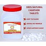 SHRI GANESH PREMIUM CAMPHOR Pure Camphor Tablets for Pooja & Meditation, 250g (White, CAM001)