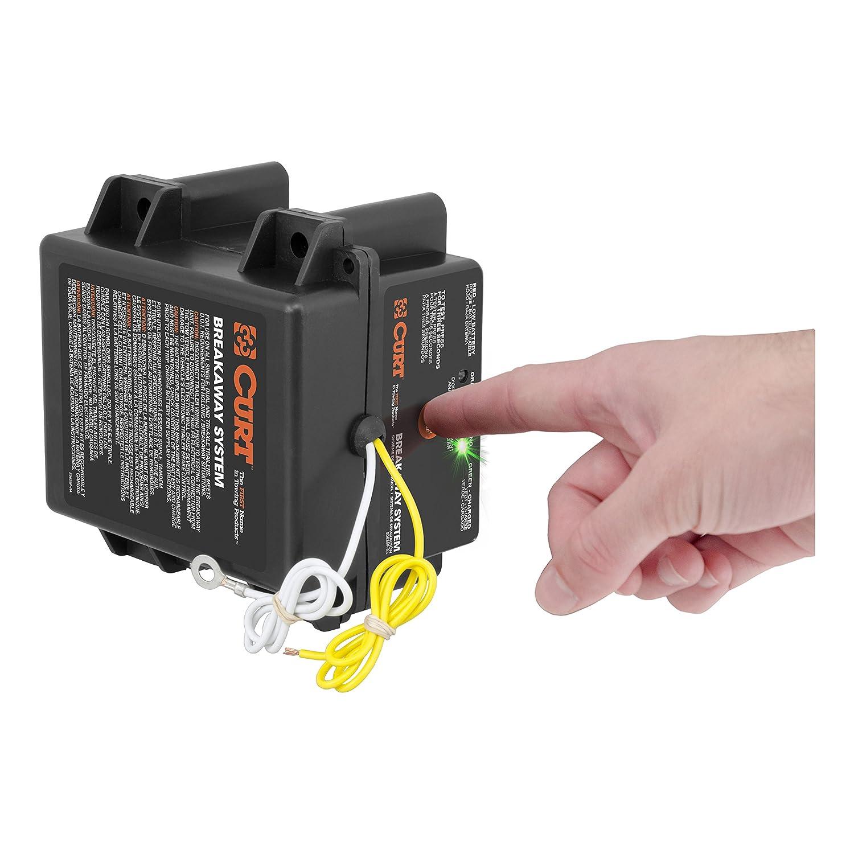 Amazon.com: CURT 52042 Push-to-Test Breakaway Kit: Automotive